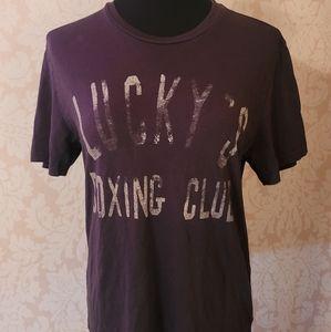 Lucky Brand Graphic T-Shirt-Pima Cotton Crew Neck